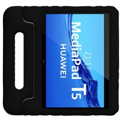 Funda Infantil Antigolpes con Asa para Huawei MediaPad T5 color Negra
