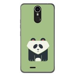 Funda Gel Tpu para Ulefone Metal Diseño Panda Dibujos