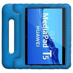Funda Infantil Antigolpes con Asa para Huawei MediaPad T5 color Azul