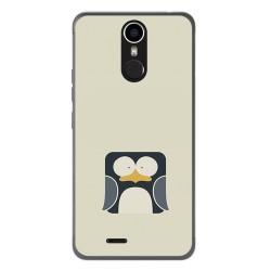 Funda Gel Tpu para Ulefone Metal Diseño Pingüino Dibujos