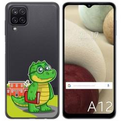 Funda Gel Transparente para Samsung Galaxy A12 diseño Coco Dibujos