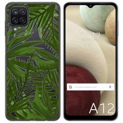 Funda Gel Transparente para Samsung Galaxy A12 diseño Jungla Dibujos