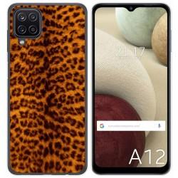 Funda Gel Tpu para Samsung Galaxy A12 diseño Animal 03 Dibujos