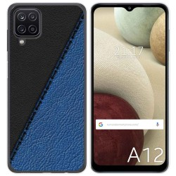 Funda Gel Tpu para Samsung Galaxy A12 diseño Cuero 02 Dibujos