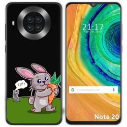 Funda Gel Transparente para Cubot Note 20 diseño Conejo Dibujos