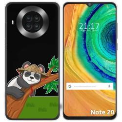 Funda Gel Transparente para Cubot Note 20 diseño Panda Dibujos