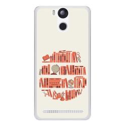Funda Gel Tpu para Ulefone Power Diseño Mundo Libro Dibujos