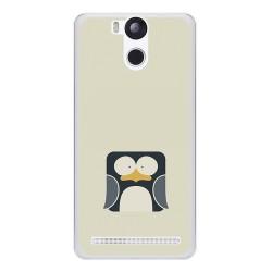 Funda Gel Tpu para Ulefone Power Diseño Pingüino Dibujos