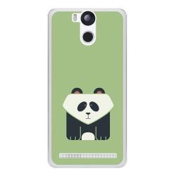 Funda Gel Tpu para Ulefone Power Diseño Panda Dibujos