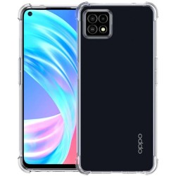 Funda Gel Tpu Anti-Shock Transparente para Oppo A73 5G