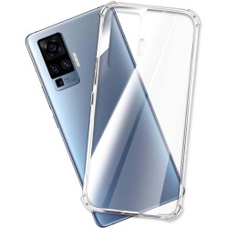 Funda Gel Tpu Anti-Shock Transparente para Vivo X51 5G