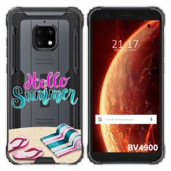 Funda Gel Transparente para Blackview BV4900 / BV4900 Pro diseño Summer Dibujos