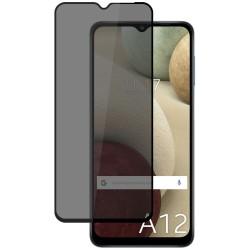 Protector Cristal Templado Completo 5D Antiespías para Samsung Galaxy A12 Vidrio