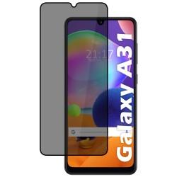 Protector Cristal Templado Completo 5D Antiespías para Samsung Galaxy A31 Vidrio