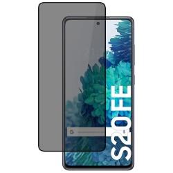Protector Cristal Templado Completo 5D Antiespías para Samsung Galaxy S20 FE Vidrio