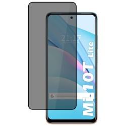 Protector Cristal Templado Completo 5D Antiespías para Xiaomi Mi 10T Lite Vidrio