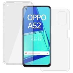 Funda Completa Transparente Pc + Tpu Full Body 360 para Oppo A52 / A72