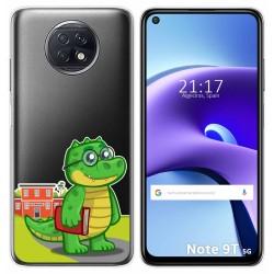 Funda Gel Transparente para Xiaomi Redmi Note 9T 5G diseño Coco Dibujos