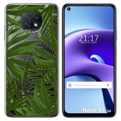 Funda Gel Transparente para Xiaomi Redmi Note 9T 5G diseño Jungla Dibujos