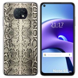 Funda Gel Tpu para Xiaomi Redmi Note 9T 5G diseño Animal 01 Dibujos
