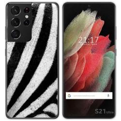 Funda Gel Tpu para Samsung Galaxy S21 Ultra 5G diseño Animal 02 Dibujos