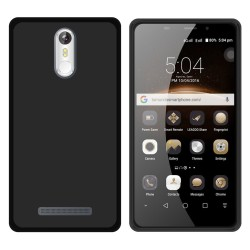 Funda Gel Tpu para Leagoo M8 / M8 Pro Color Negra