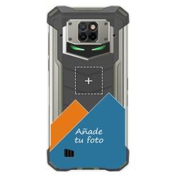 Personaliza tu Funda Gel Silicona Transparente con tu Fotografia para Doogee S88 dibujo personalizada