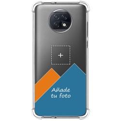 Personaliza tu Funda Silicona Anti-Golpes Transparente con tu Fotografía para Xiaomi Redmi Note 9T 5G personalizada