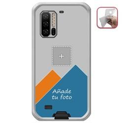 Personaliza tu Funda Gel Silicona Transparente con tu Fotografia para Ulefone Note 7 Dibujo Personalizada