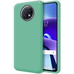 Funda Silicona Líquida Ultra Suave para  Xiaomi Redmi Note 9T 5G color Verde