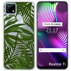 Funda Gel Transparente para Realme 7i diseño Jungla Dibujos
