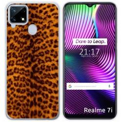 Funda Gel Tpu para Realme 7i diseño Animal 03 Dibujos