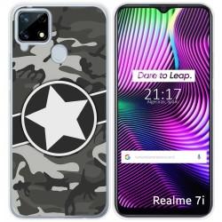 Funda Gel Tpu para Realme 7i diseño Camuflaje 02 Dibujos