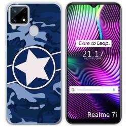 Funda Gel Tpu para Realme 7i diseño Camuflaje 03 Dibujos
