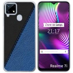 Funda Gel Tpu para Realme 7i diseño Cuero 02 Dibujos