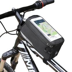 Bolsa de Manillar para bicicleta con Ventana para Teléfono