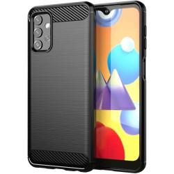 Funda Gel Tpu Tipo Carbon Negra para Samsung Galaxy A32 5G