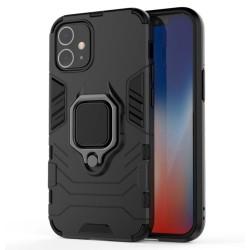Funda Tough Armor con Anillo Giratorio Negra para Iphone 12 Mini (5.4)