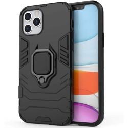 Funda Tough Armor con Anillo Giratorio Negra para Iphone 12 Pro Max (6.7)