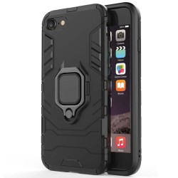 Funda Tough Armor con Anillo Giratorio Negra para Iphone 7 / 8 / SE 2020