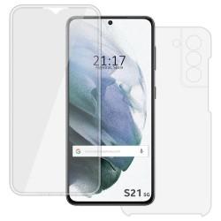 Funda Completa Transparente Pc + Tpu Full Body 360 para Samsung Galaxy S21 5G