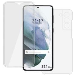 Funda Completa Transparente Pc + Tpu Full Body 360 para Samsung Galaxy S21+ Plus 5G