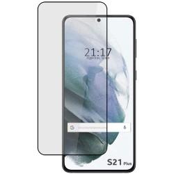 Protector Cristal Templado Completo 5D Full Glue Negro para Samsung Galaxy S21+ Plus Vidrio