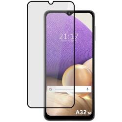 Protector Cristal Templado Completo 5D Full Glue Negro para Samsung Galaxy A32 5G Vidrio