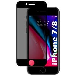Protector Cristal Templado Completo 5D Antiespías para Iphone 7 / 8 / SE 2020 Vidrio