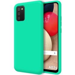 Funda Silicona Líquida Ultra Suave para Samsung Galaxy A02s color Verde