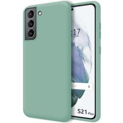 Funda Silicona Líquida Ultra Suave para Samsung Galaxy S21+ Plus 5G color Verde