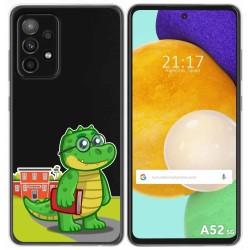 Funda Gel Transparente para Samsung Galaxy A52 / A52 5G diseño Coco Dibujos