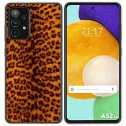 Funda Gel Tpu para Samsung Galaxy A52 / A52 5G diseño Animal 03 Dibujos