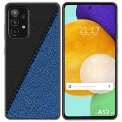 Funda Gel Tpu para Samsung Galaxy A52 / A52 5G diseño Cuero 02 Dibujos